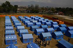 March 18, 2020, Kathmandu, Nepal: A general view of the quarantine zone during a demonstration to prepare over concerns of coronavirus COVID-19 disease spread at a quarantine zone inside the Army headquarters in Kathmandu, Nepal. (Credit Image: © Skanda Gautam/ZUMA Wire)