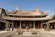 The Boai Daoist Temple in Taipei, Taiwan.