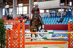 UNTERLANDSTAETTNER Anna (GER), DAYDREAM<br /> Neustadt-Dosse - 20. CSI Neustadt-Dosse 2020<br /> Preis der Firma Devoucoux Sättel<br /> Silver Amateurs<br /> Int. Springprüfung nach Strafpunkten<br /> 08.Januar 2020<br /> © www.sportfotos-lafrentz.de/Stefan Lafrentz