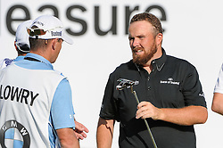 26.06.2015, Golfclub München Eichenried, Muenchen, GER, BMW International Golf Open, Tag 2, im Bild Shane Lowry (IRL) // during Day two of the BMW International Golf Open at the Golfclub München Eichenried in Muenchen, Germany on 2015/06/26. EXPA Pictures © 2015, PhotoCredit: EXPA/ Eibner-Pressefoto/ Schreyer<br /> <br /> *****ATTENTION - OUT of GER*****