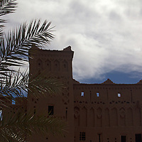 Africa, Morocco, Ourazazate. Ait Ben Haddou film set.