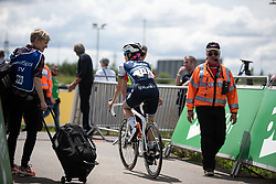 Lizzie Deignan (GBR) of Trek-Segafredo rides to the start of Stage 2 of 2019 OVO Women's Tour, a 62.5 km road race starting and finishing in the Kent Cyclopark in Gravesend, United Kingdom on June 11, 2019. Photo by Balint Hamvas/velofocus.com