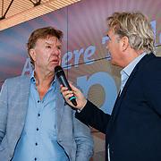 NLD/Amsterdam/20180503 - Beste Vriend Andere Tijden Sport en Olympisch Stadion, Aad de Mos in gesprek met Tom Egbers