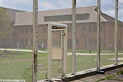 Prisones during movement to the workshops  at HMP & YOI Littlehey. Littlehey is a purpose build category C prison.