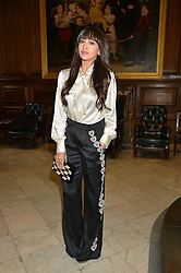 ZARA MARTIN at the LDNY Fashion Show and WIE Award Gala sponsored by Maserati held at The Goldsmith's Hall, Foster Lane, City of London on 27th April 2015.