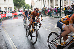 Katarzyna Pawlowska (POL) of Boels-Dolmans Cycling Team rides near the front during the Prudential Ride London Classique - a 66 km road race, starting and finishing in London on July 29, 2017, in London, United Kingdom. (Photo by Balint Hamvas/Velofocus.com)