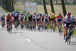 Attacks from all sides at Women's Gent Wevelgem 2017. A 145 km road race on March 26th 2017, from Boezinge to Wevelgem, Belgium. (Photo by Sean Robinson/Velofocus)