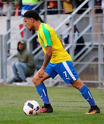 Keagan Dolly of Mamelodi Sundowns during the 1st leg of the MTN8 Semi Final between Chippa United and Mamelodi Sundowns held at the Nelson Mandela Bay Stadium in Port Elizabeth, South Africa on the 11th September 2016<br /><br />Photo by: Richard Huggard / Real Time Images