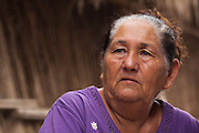 Hilda Hurtado Valenzuela, presidenta de la Sociedad Cooperativa del Pueblo Indígena Cucapah. Indiviso, Baja California. 13 de agosto de 2014.. (Photo: Prometeo Lucero)