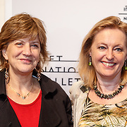 NLD/Amsterdam/20160206 - Premiere balletvorstelling Mata Hari, Jet Bussemaker en ...............