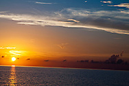 Evening Fire, Sunset in Grand Cayman