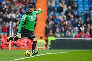Moya, goalkeeper of Getafe CF