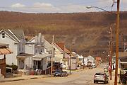 Poconos, Northeast Pennsylvania, Schuylkill County, Strip Mining, Coaldale town