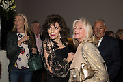 TAMARA BECKWITH; JOAN COLLINS; LIZ BREWER, Bonhams host a private view for their  forthcoming auction: Jackie Collins- A Life in Chapters' Bonhams, New Bond St.  3 May 2017.