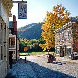 Harpers Ferry Fall Morning