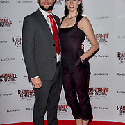 Sed Tune and Amy Bailey actress attend Blackbird - World Premiere with Michael Flatley at May Fair Hotel, London, UK. 28th September 2018.