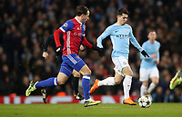 Football - 2017 / 2018 UEFA Champions League - Round of Sixteen, Second Leg: Manchester City (4) vs. FC Basel (0)<br /> <br /> Brahim Díaz of Manchester City  at The Etihad.<br /> <br /> COLORSPORT