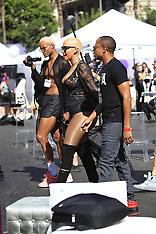 Los Angeles - Amber Rose And Blac Chyna At Slutwalk Demonstration - 01 Oct 2016