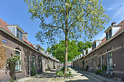 Nederland, Arnhem,Lombok, een woonwijk met vooroorlogse sociale huurwoningen in de wijk Heijenoord. Foto: Flip Franssen