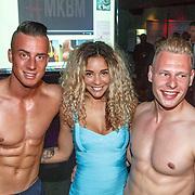 NLD/Amsterdam/20150603 - Start nieuwe website MKBM van Fajah Lourens, Fajah en enkele mannelijke modellen