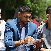 CANASTOTA, NY - JUNE 12: Various images during the International Boxing Hall of Fame induction Weekend of Champions events on June 12, 2015 in Canastota, New York. (Photo by Alex Menendez/Getty Images) *** Local Caption ***