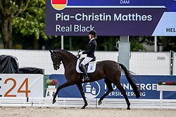 Matthes Pia-Christin, GER, Real Black<br /> World Championship Young Horses Verden 2021<br /> © Hippo Foto - Dirk Caremans<br /> 26/08/2021