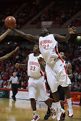 01 December 2010: Tony Lewis during an NCAA basketball game between the University of Nevada Las Vegas Runnin' Rebels and the Illinois State Redbirds at Redbird Arena in Normal Illinois.