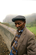 An old man in one of the little villages of the northeast zone of Santo Antao island.