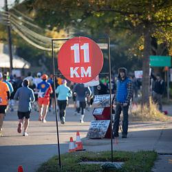 2019 Houston Marathon Mile 7 Full & Half