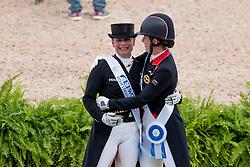 Werth Isabell, GER, Dujardin Charlotte, GBR<br /> World Equestrian Games - Tryon 2018<br /> © Hippo Foto - Dirk Caremans<br /> 14/09/2018