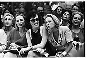 Mrs. Taubman, guest and Nan Kempner, Chanel couture show, Paris, 1991. © Copyright Photograph by Dafydd Jones 66 Stockwell Park Rd. London SW9 0DA Tel 020 7733 0108 www.dafjones.com