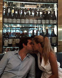 """Michelle Hunziker releases a photo on Instagram with the following caption: """"The place to be...back to my love @therealtrussardigram \u2764\ufe0f #trussardiallascala #dinner #love"""". Photo Credit: Instagram *** No USA Distribution *** For Editorial Use Only *** Not to be Published in Books or Photo Books ***  Please note: Fees charged by the agency are for the agency's services only, and do not, nor are they intended to, convey to the user any ownership of Copyright or License in the material. The agency does not claim any ownership including but not limited to Copyright or License in the attached material. By publishing this material you expressly agree to indemnify and to hold the agency and its directors, shareholders and employees harmless from any loss, claims, damages, demands, expenses (including legal fees), or any causes of action or allegation against the agency arising out of or connected in any way with publication of the material."""