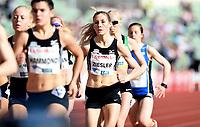 Friidrett ,  11. juni 2015 , Diamond League , Bislett Games , Oslo<br />  Atheltics<br /> 1500 m<br /> Caroline Ziesler , NOR