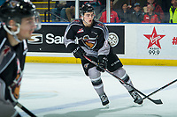 KELOWNA, BC - JANUARY 26: Tanner Brown #29 of the Vancouver Giants skates against the Kelowna Rockets at Prospera Place on January 26, 2020 in Kelowna, Canada. (Photo by Marissa Baecker/Shoot the Breeze)