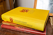 Chinese Art dealing book by Giuseppe Eskenazi on display in house clearance auction sale room, UK