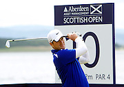 The Aberdeen Asset Management Scottish Open Golf Championship 2012 At Castle Stuart Golf Links..Final Round Saturday 14-07-12.. .Marc Warren of Scotland , during the FinalRound of The Aberdeen Asset Management Scottish Open Golf Championship 2012 At Castle Stuart Golf Links. The event is part of the European Tour Order of Merit and the Race to Dubai....At Castle Stuart Golf Links, Inverness, Scotland...Picture Mark Davison/ ProLens PhotoAgency/ PLPA.Saturday 14th July 2012.