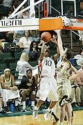2008 University of Miami Women's Basketball vs UCF