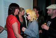 JANET STREET-PORTER; KATE MOSS; PAM HOGG; GAVIN TURK, , Art Plus Music Party 2010. Whitechapel art Gallery.  To raise money for the gallery';s education and community programme. 22 April 2010.