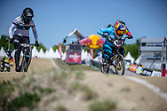 #100 (PAJON Mariana) COL at Round 4 of the 2018 UCI BMX Superscross World Cup in Papendal, The Netherlands