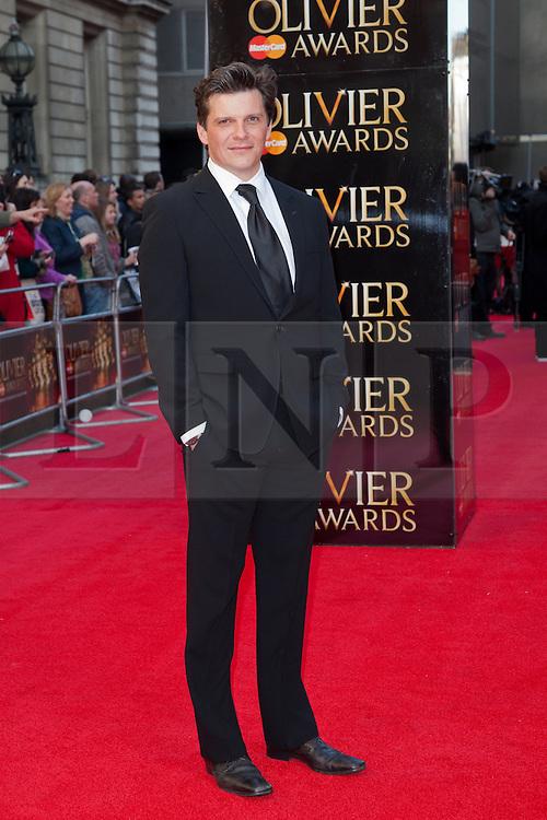 © Licensed to London News Pictures. 15/04/2012. Nigel Harman 2012 Olivier Awards Arrivals At The Royal Opera House, London, UK.  Photo credit : Richard Hurn / LNP