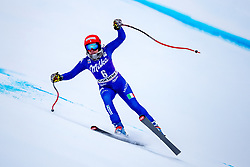 17.01.2018, Olympia delle Tofane, Cortina d Ampezzo, ITA, FIS Weltcup Ski Alpin, Abfahrt, Damen, 1. Training, im Bild Federica Brignone (ITA) // Federica Brignone of Italy in action during the 1st practice run of ladie' s downhill of the Cortina FIS Ski Alpine World Cup at the Olympia delle Tofane course in Cortina d Ampezzo, Italy on 2015/01/17. EXPA Pictures © 2018, PhotoCredit: EXPA/ Dominik Angerer