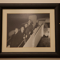photograph of Clancy Brothers pictured at Shannon Airport