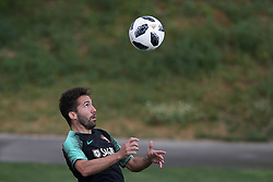 May 30, 2018 - Lisbon, Portugal - Portugal's midfielder Joao Moutinho in action during a training session at Cidade do Futebol (Football City) training camp in Oeiras, outskirts of Lisbon, on May 30, 2018, ahead of the FIFA World Cup Russia 2018 preparation matches against Belgium and Algeria...........during the Portuguese League football match Sporting CP vs Vitoria Guimaraes at Alvadade stadium in Lisbon on March 5, 2017. Photo: Pedro Fiuzaduring the Portugal Cup Final football match CD Aves vs Sporting CP at the Jamor stadium in Oeiras, outskirts of Lisbon, on May 20, 2015. (Credit Image: © Pedro Fiuza/NurPhoto via ZUMA Press)