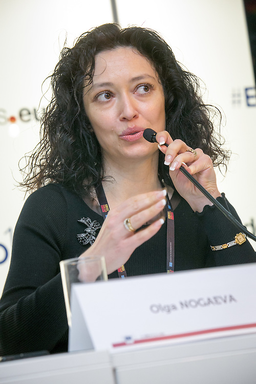 04 June 2015 - Belgium - Brussels - European Development Days - EDD - Gender - Empowering women in Central Asia - Stories from the field - Olga Nogaeva<br /> International project manager at Formaper - Agency of the Milan Chamber of Commerce, Industry, Craft & Agriculture © European Union