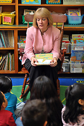 Indiana Teacher of the Year Tania Harman at Warren Primary Center in South Bend...Photo by Matt Cashore..Use of this image prohibited without authorization and/or compensation..To contact Matt Cashore:.574.220.7288.574.233.6124.cashore1@michiana.org.www.mattcashore.com