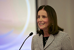 Carolyn Fairbairn, director general of the CBI, speaking at the CBI Scotland lunch, Principal George Hotel, Edinburgh. Pic copyright Terry Murden @edinburghelitemedia