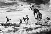 Australian Surf Lifesaving pictures from <br /> the book SURF CLUB by Craig Golding.<br /> <br /> The beach is an environment that many Australians, and in particular the Lifesaver, have a special affinity with. It is a place<br /> they are drawn to by the endless energy of its oceans,a place that is a vital part of their life.<br /> On beaches around Australia from September till April, Lifesavers, who are proficient in their lifesaving awards, and who have <br /> completed the required number of hours on patrol duty, participate in competitions ranging from interclub events  to the national championships.<br /> The aim of these competitions are to continually develop and demonstrate their lifesaving skills, while providing safe beaches and aquatic environments throughout Australia.