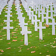Somme American Cemetery and Memorial located in Bony, Aisne, Picardy, France. It contains the graves of 1,844 of the United States' military dead from World War I