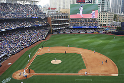 May 29, 2017 - San Diego, CA, USA - San Diego Padres' Hunter Renfroe rounds the bases after hitting a grand slam in the fourth inning against the Chicago Cubs on Monday, May 29, 2017 at Petco Park in San Diego, Calif. (Credit Image: © K.C. Alfred/TNS via ZUMA Wire)