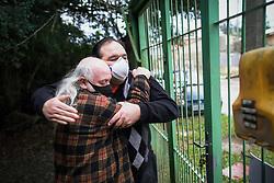 Reencontro na Pandemia!<br /> <br /> Depois de muito tempo e com muita emoção visitei o Professor José, na rua Araçá do Varejão, no Lami. FOTO: Jefferson Bernardes/ Agência Preview